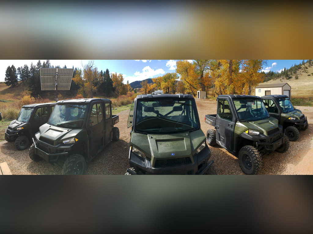 Hammer 'Em Outfitters Montana Hunting - Polaris Rangers