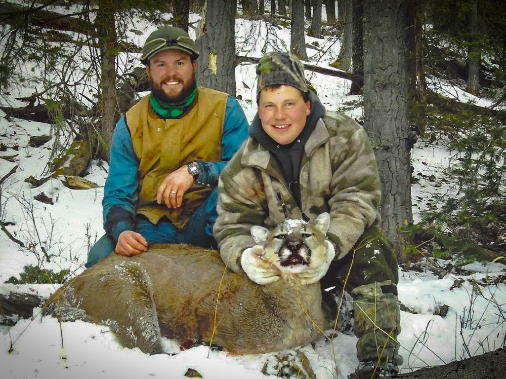 Hammer 'Em Outfitters Montana Hunting Mountain Lions 2